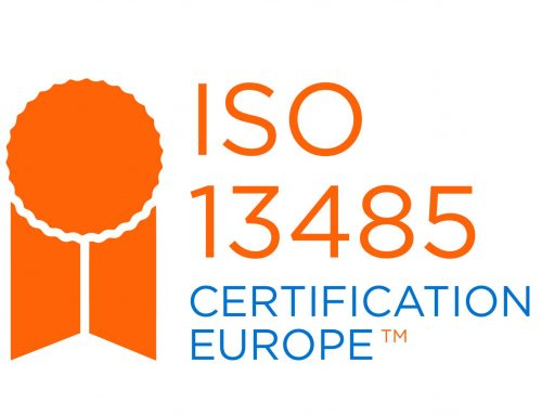 We are now ISO 13485 certified